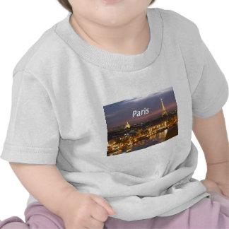 paris at night [kan] tee shirts
