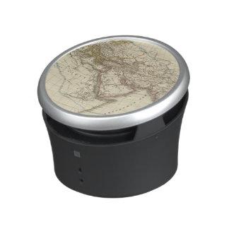 Paris atlas map bluetooth speaker