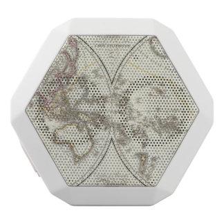 Paris Atlas Map White Boombot Rex Bluetooth Speaker
