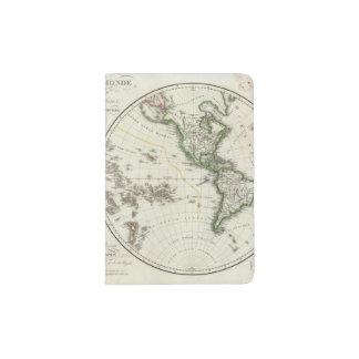 Paris Atlas Map Passport Holder