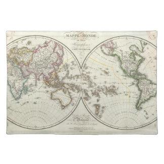 Paris Atlas Map Placemat