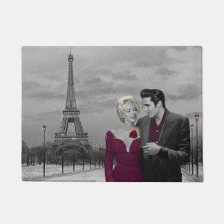 Paris B&W 2 Doormat