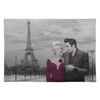 Paris B&W 2 Placemat