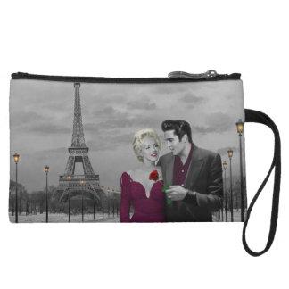 Paris B&W 2 Wristlet