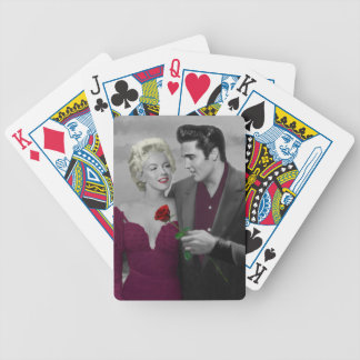 Paris B&W Bicycle Playing Cards
