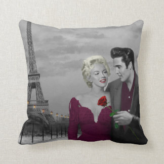 Paris B&W Cushion