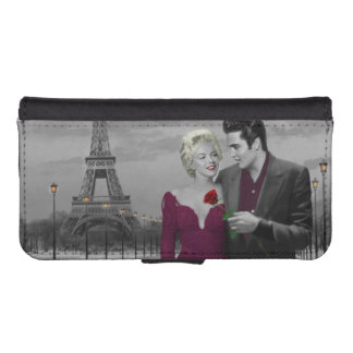 Paris B&W iPhone SE/5/5s Wallet Case