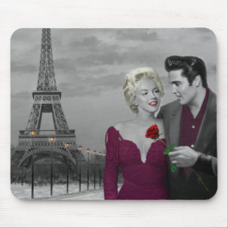Paris B&W Mouse Mat