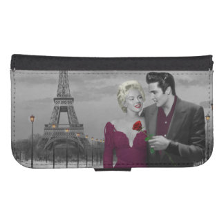 Paris B&W Samsung S4 Wallet Case
