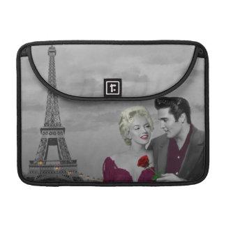 Paris B&W Sleeve For MacBooks