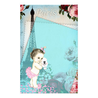 Paris Baby Stationery
