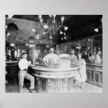 Paris Bar, 1895. Vintage Photo Poster