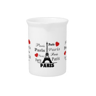 Paris Beverage Pitchers