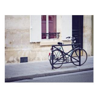 Paris Bicycle Postcard