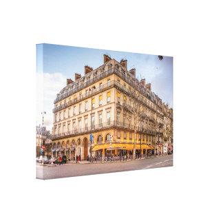 Paris Bistro - Travel Photography Canvas Prints