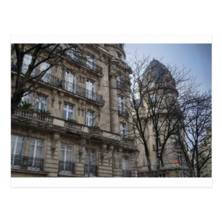 Paris Building Postcard