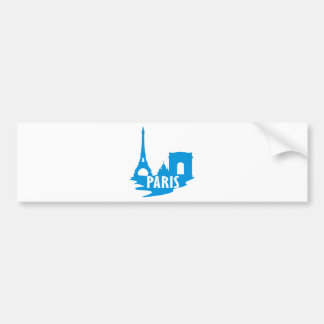 Paris Bumper Sticker