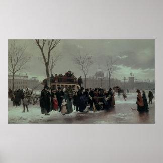 Paris Bus Accident Poster