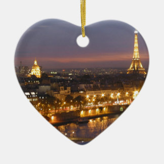 Paris by Night Christmas Ornament