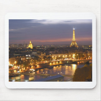 Paris by Night Mouse Mat