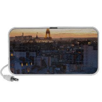 Paris by night speaker system