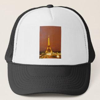 Paris by night trucker hat
