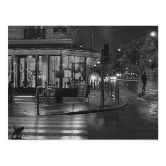 Paris Cafe at Night Post Card