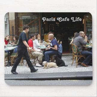 Paris Cafe Life Mousepad