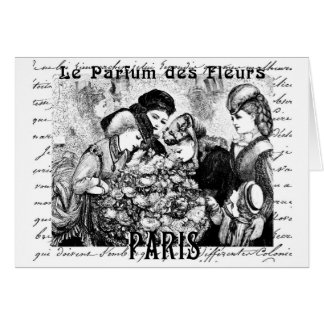 Paris Card The Fragrance of Flowers