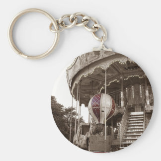 Paris Carousel Key Ring