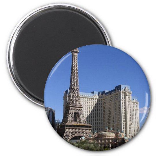 Paris Casino In Las Vegas 6 Cm Round Magnet