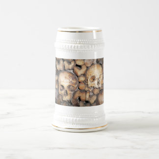 Paris Catacombs Beer Stein