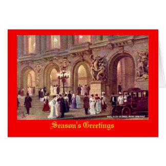 Paris, Christmas Card