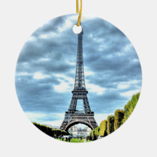 Paris Christmas Ornament