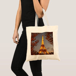 Paris - City of Lights - Eiffel Tower - Tote Bag
