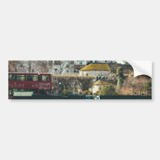 Paris Cityscape - Old Building Travel Photography Bumper Stickers