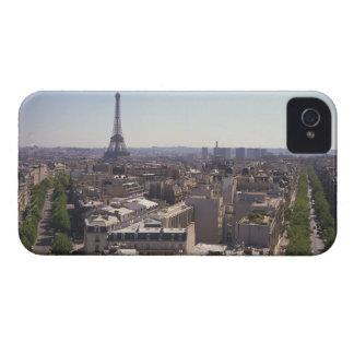 Paris cityscape,  Paris,  France iPhone 4 Cases