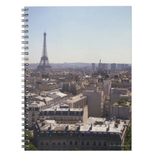 Paris cityscape,  Paris,  France Notebook