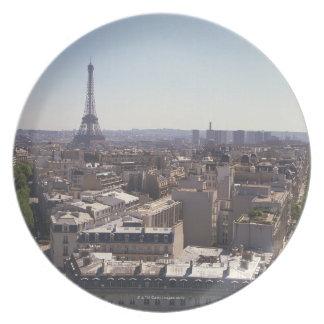 Paris cityscape,  Paris,  France Plate