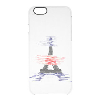 paris clear iPhone 6/6S case