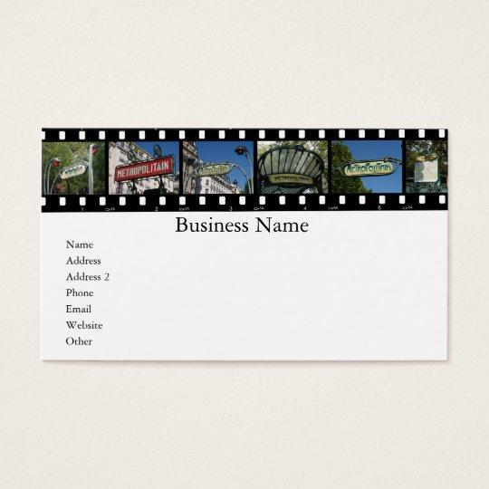 Paris Collections Business Card