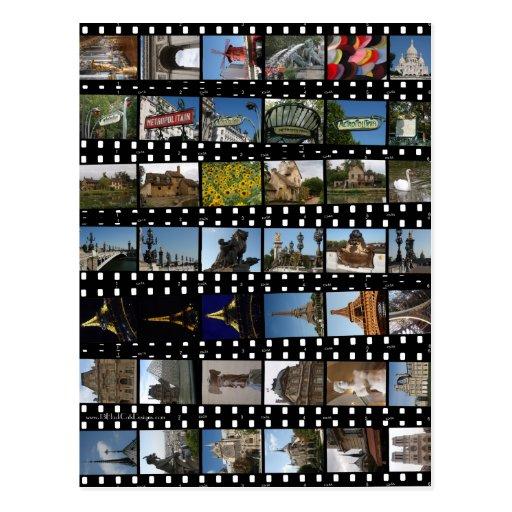 Paris Collections Postcard
