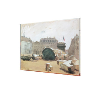 Paris Commune Canvas Print