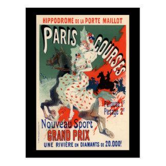 Paris Courses Post Card