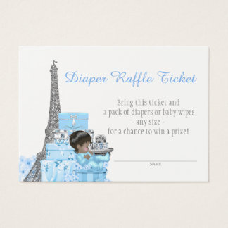 Paris Diaper Raffle Tickets