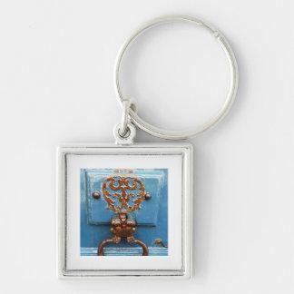 Paris door key ring
