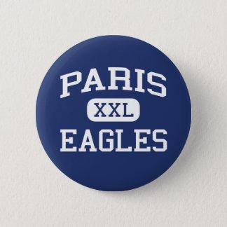 Paris Eagles Middle School Paris Arkansas 6 Cm Round Badge