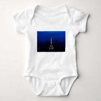 Paris Eifel Tower At Night Baby Bodysuit