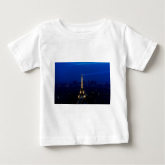 Paris Eifel Tower At Night Baby T-Shirt