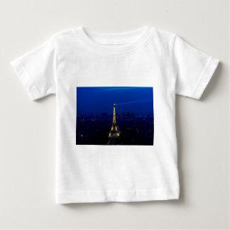 Paris Eifel Tower At Night Baby T-Shirt